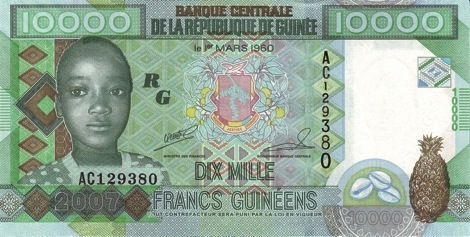 Guinea_10000_front