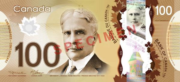 Canada 100 Dollar