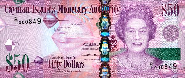 Cayman Islands 50 Dollar