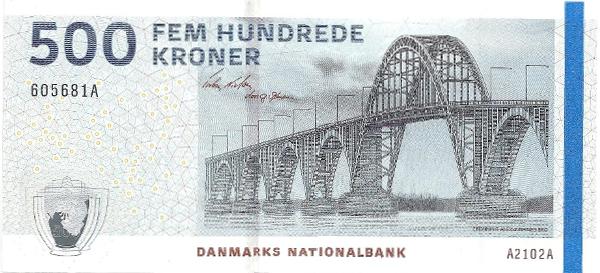 Denmark 500 Kroner