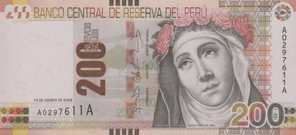 Peru 200 Nuevo Soles
