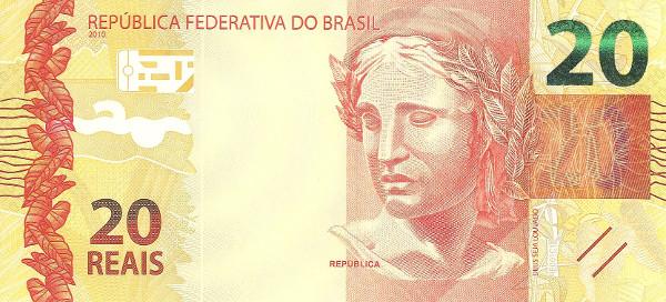 Brazil's 20 Reais Note