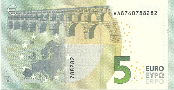 EUR 5 Back International Bank Note Society (IBNS) Banknote of 2013   Nominations