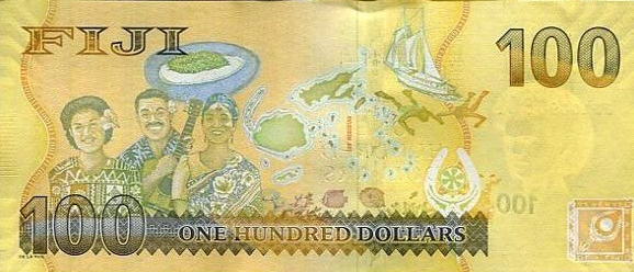 FIJ 100 Back International Bank Note Society (IBNS) Banknote of 2013   Nominations