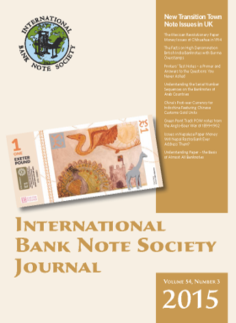 IBNS Journal Cover: Volume 54 Issue 3