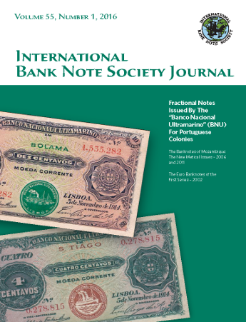 IBNS Journal Cover: Volume 55 Issue 1