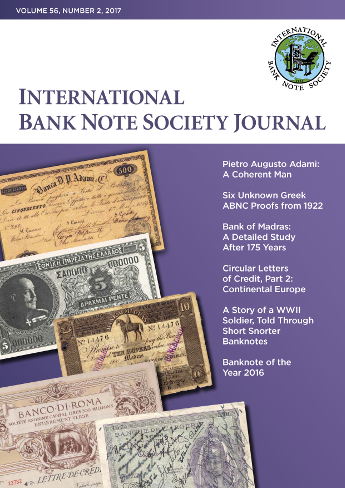 IBNS Journal Cover: Volume 56 Issue 2