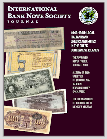 IBNS Journal Cover: Volume 58 Issue 4