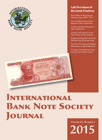 IBNS Journal Cover: Volume 54 Issue 2